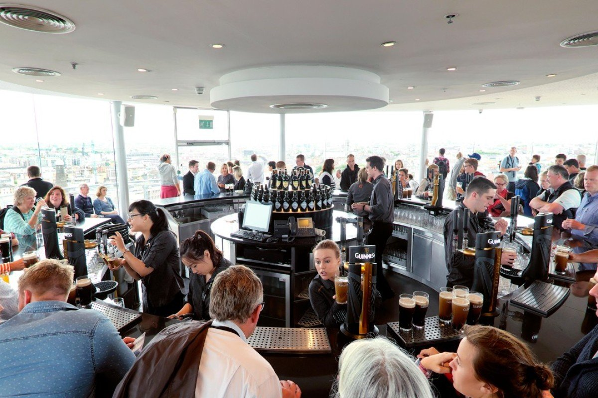 The Guinness Storehouse's Gravity Bar.