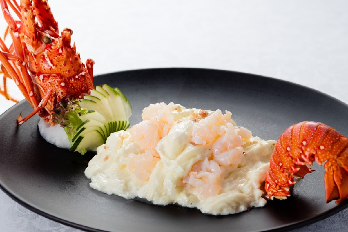 Sautéed lobster with fresh milk, which is just one of the dishes featured on a specially prepared menu of Shunde cuisine, which is being served throughout September at The Royal Garden Chinese Restaurant, in Kowloon, Hong Kong.