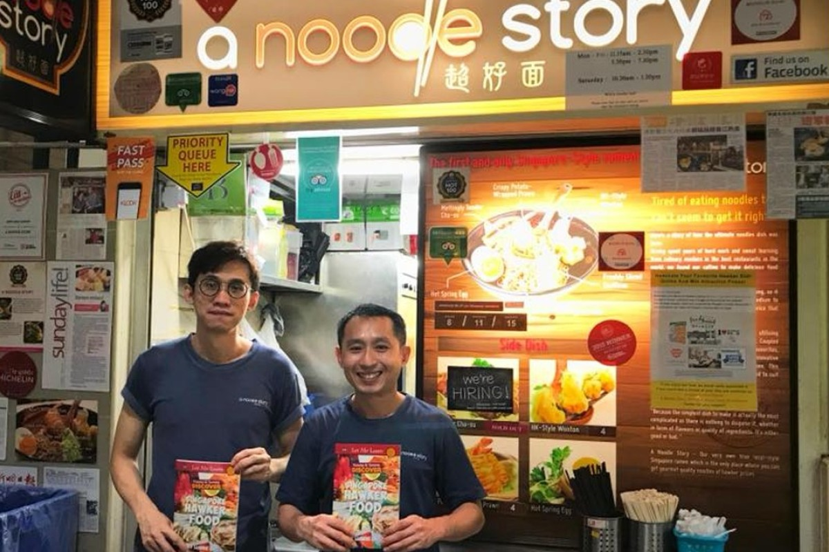 Ben Tham and Gwern Khoo of A Noodle Story. Photo: Facebook