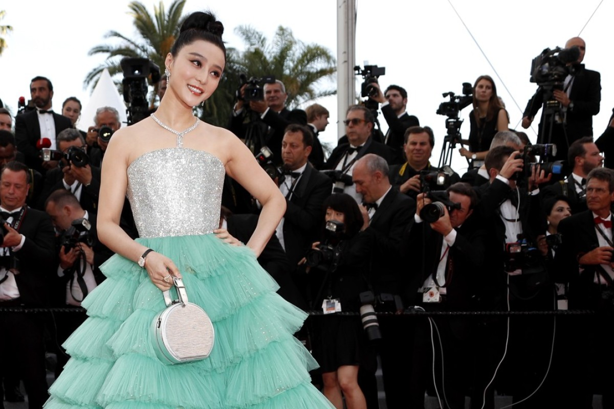 Where is Fan Bingbing? The 'missing' actress with the high profile (seen arriving for the screening of 'Everybody Knows' and the opening ceremony of the 71st Cannes Film Festival in France in May) has vanished. Photo: EPA