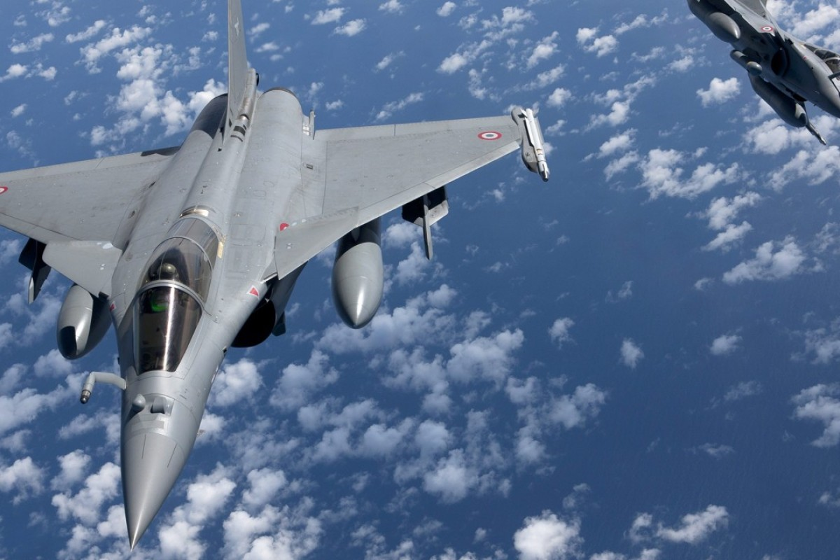 The purchase of French Rafale fighter jets has proved a thorny issue for India's ruling BJP party. Photo: EPA