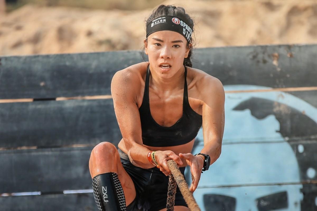 Gigi Chan is taking part in the Spartan World Championship. Photos: Spartan Race
