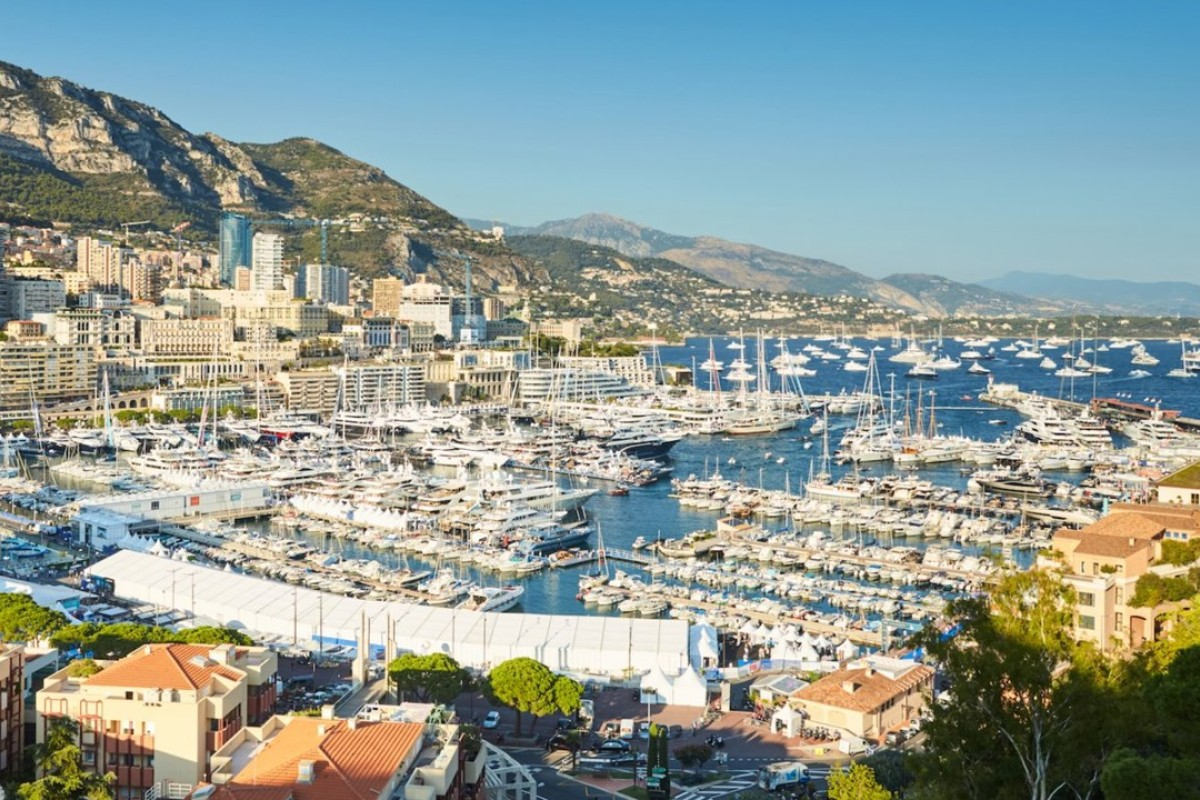 This year's Monaco Yacht Show, which ended on Saturday, featured 121 superyachts together valued at more than US$3.5 billion. Photo: Shutterstock
