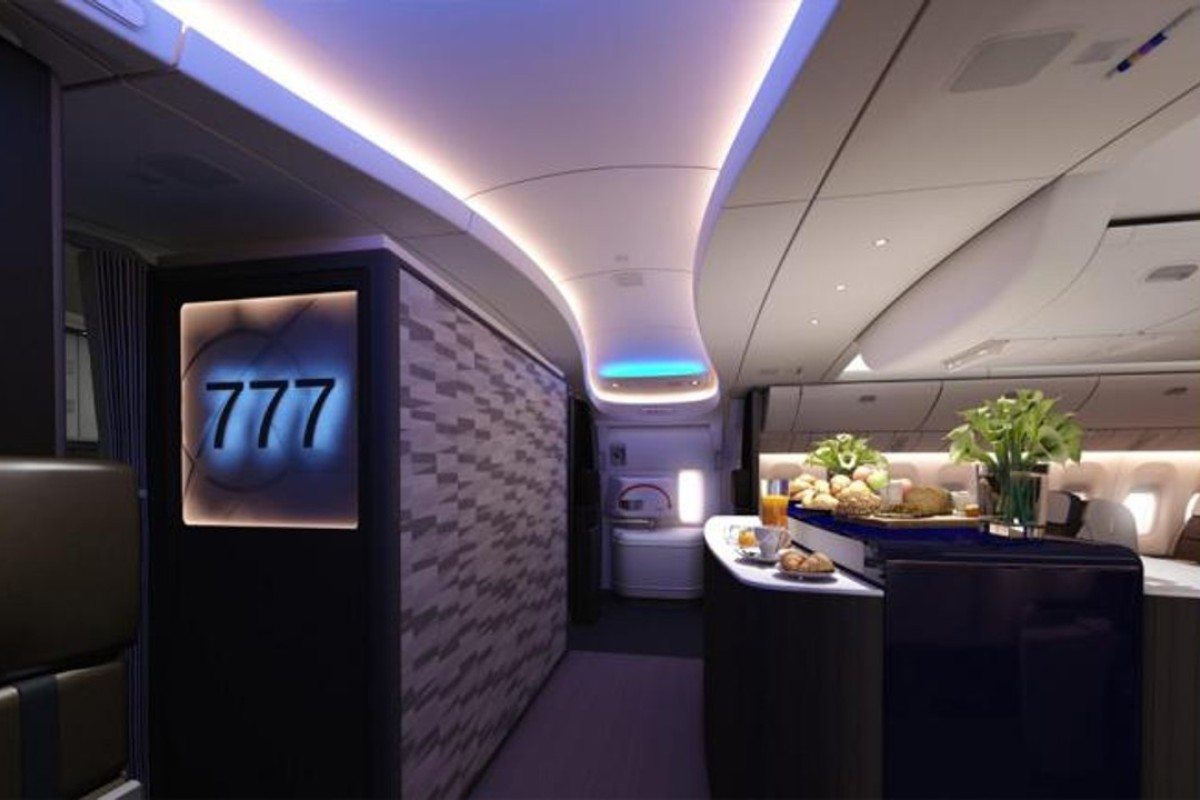 The 777X will also feature a higher humidity environment along with a lower cabin pressure, boosting passenger comfort.