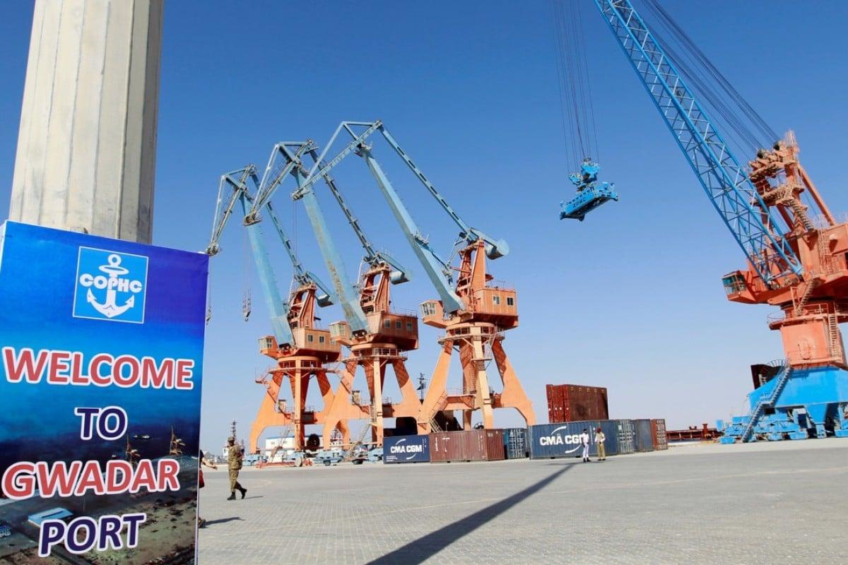 The China-Pakistan Economic Corridor port in Gwadar. Photo: Reuters