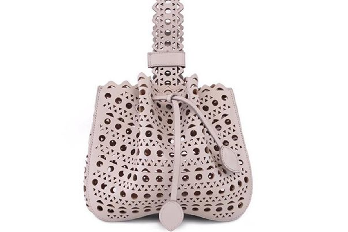 Alaïa Is Known For Its Lasercut Handbags Which Come With A Hefty Price Tag