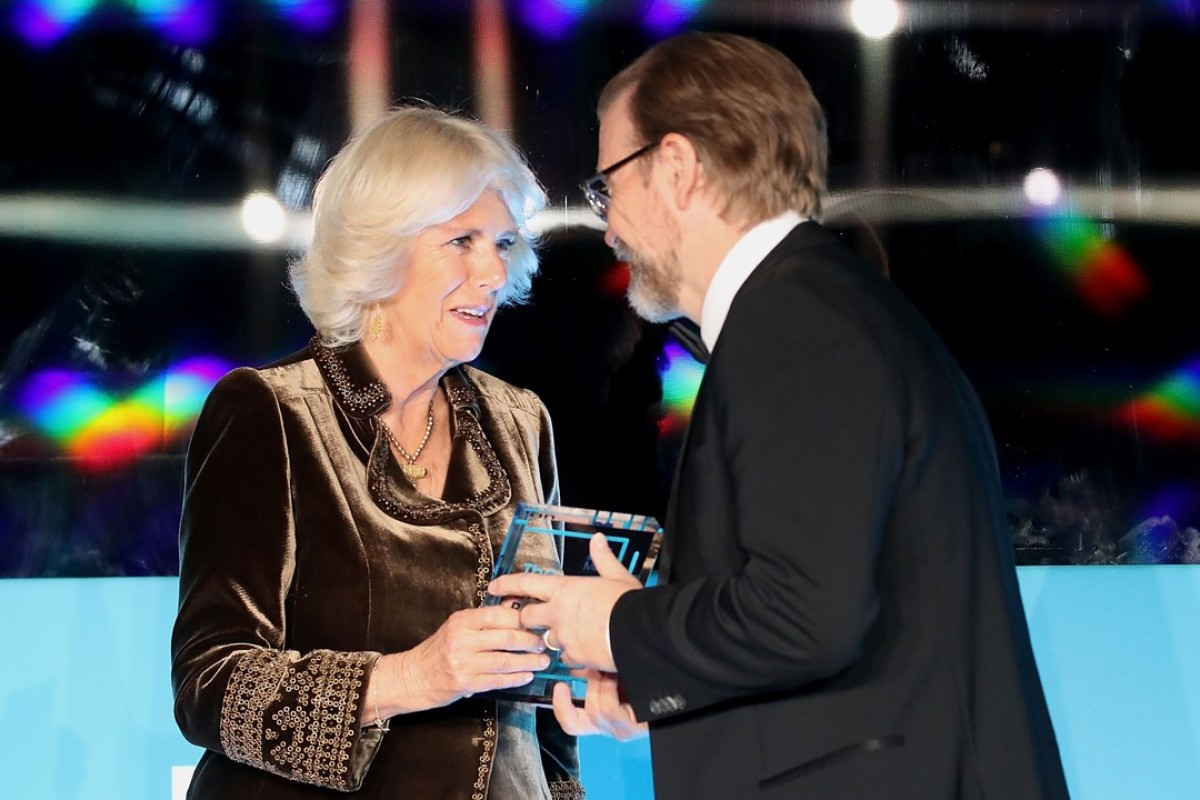 Britain's Camilla, Duchess of Cornwall, presents American author George Saunders with the 2017 Man Booker Prize for Fiction in London last year, but who will win it this year? Picture: AFP