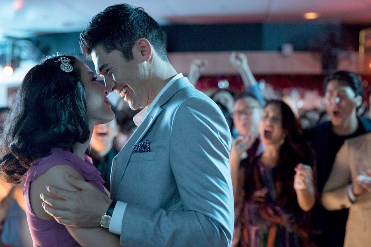 Constance Wu (left) and Henry Golding in a scene from the hit Hollywood film, 'Crazy Rich Asians', which will be released in cinemas in mainland China from November 30. Photo: Sanja Bucko, Warner Bros. Pictures