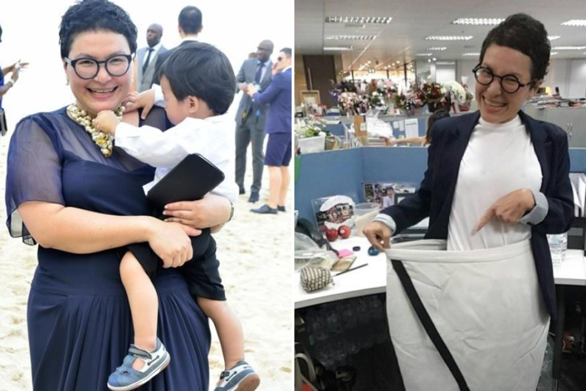 Anima 'Bo' Tatsajun lost over 30kg in two years and is now running the 100km Oxfam Trailwalker in Hong Kong. Photos: Handout