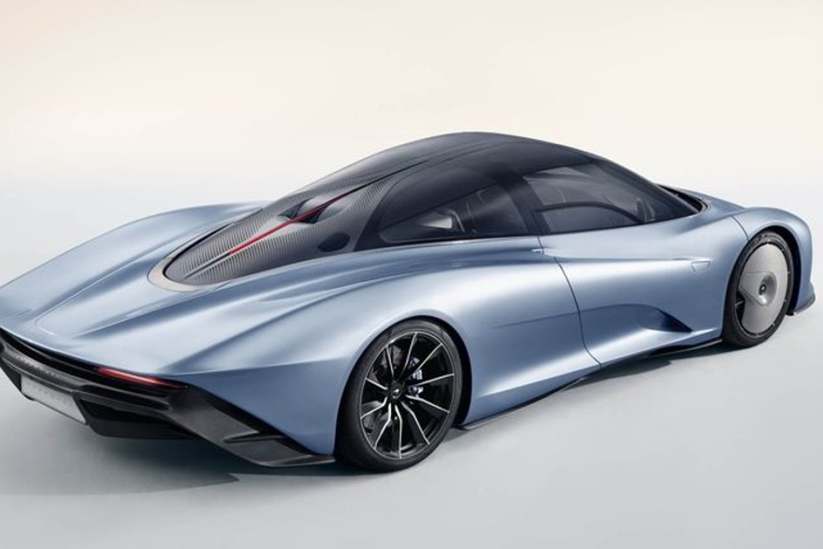 McLaren's petrol-electric hybrid, the Speedtail, which can accelerate from 0 to 186mph in only 12.8 seconds and has a top speed of 250mph, is the British carmaker's fastest model yet.