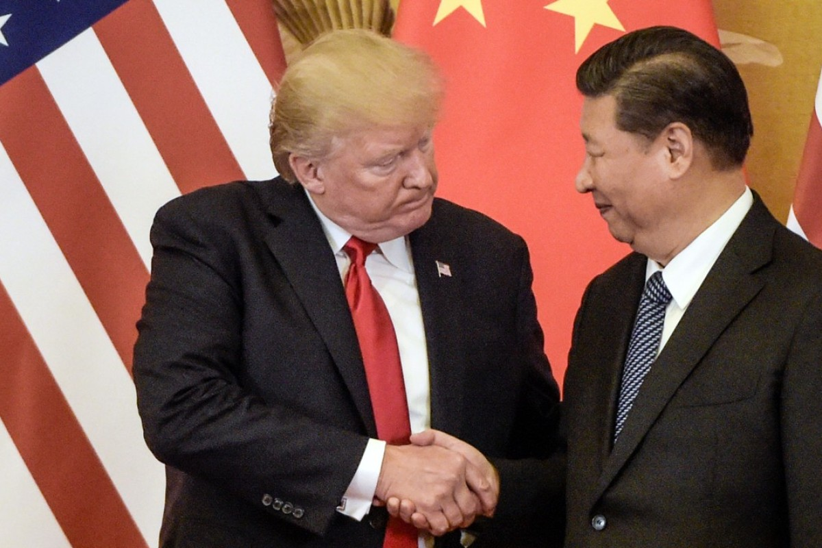 "US President Donald Trump says he ""had a long and very good conversation with President Xi Jinping of China"". Photo: AFP"