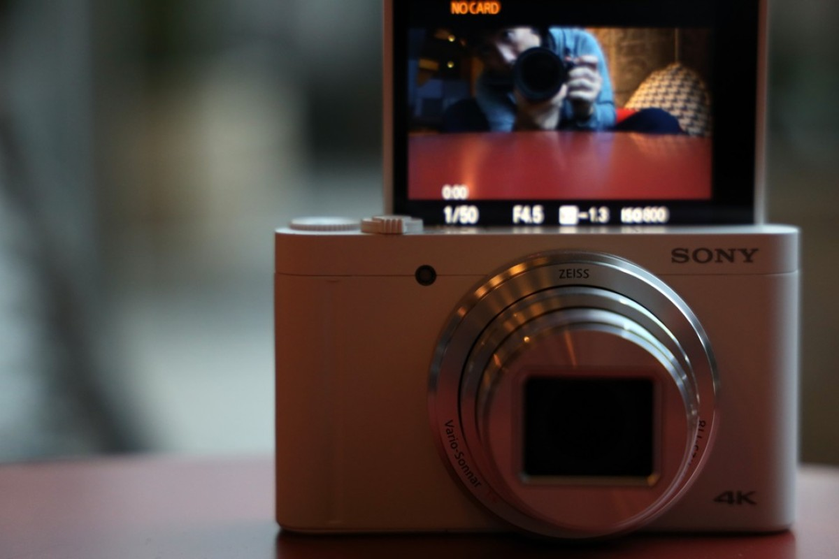 The compact Sony DSC-WX800 digital camera, with its convenient, movable screen and impressive zoom lens, will tempt many people who are keen to 'upgrade' the quality of photographs they usually take with their smartphones. Photos: Derek Ting