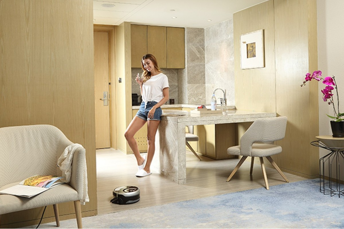 The ILIFE W400 Floor Washing Robot (above), which uses four different techniques to clean and wash floors in the home, is just one of the new hi-tech devices that can be programmed to do the household chores while we relax.