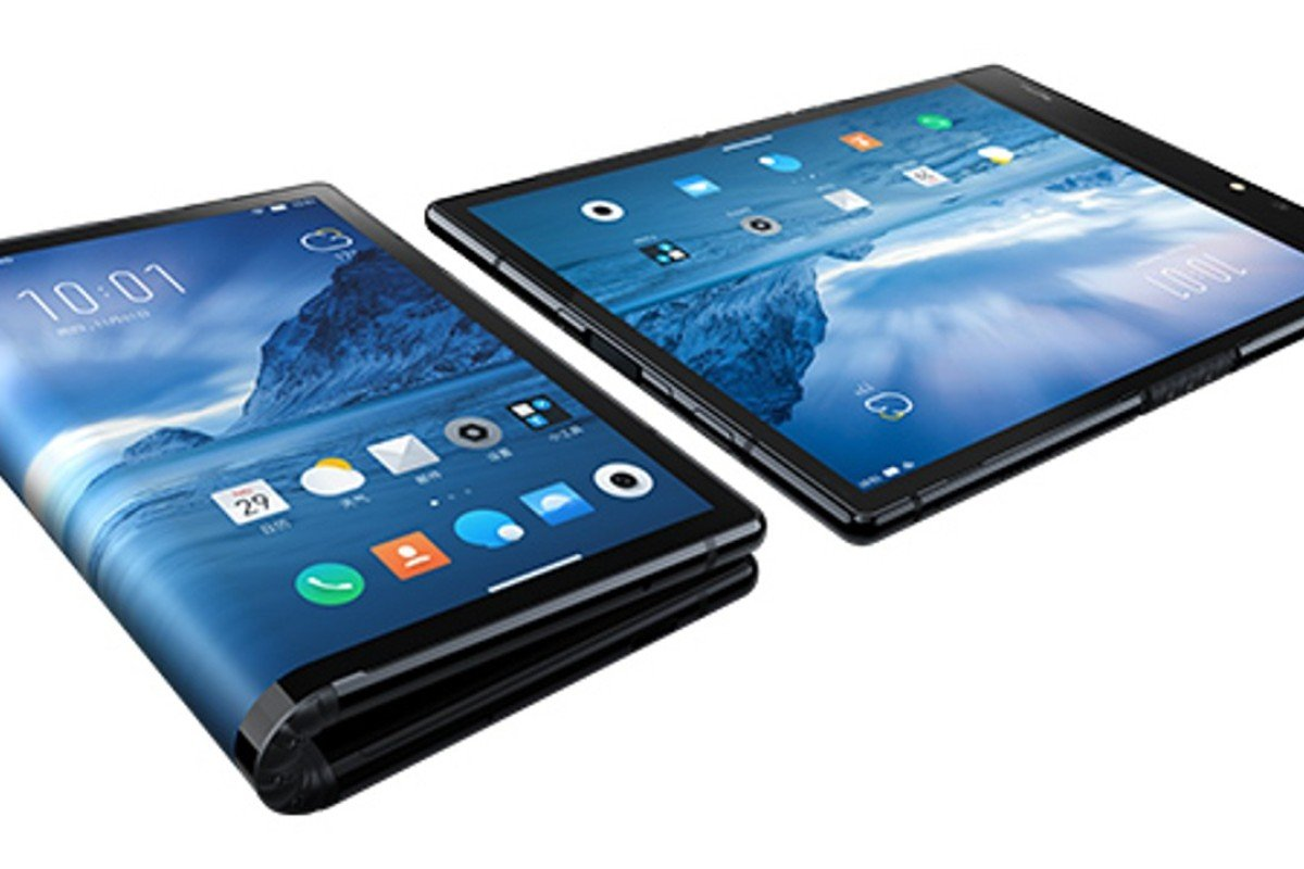 Chinese technology start-up Royole Corp beat Samsung by unveiling the world's first foldable smartphone, the FlexPai.