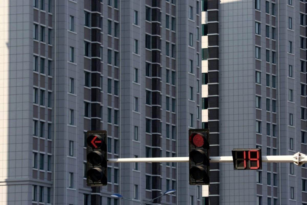 Residential buildings in Jiangsu province. Photo: Reuters