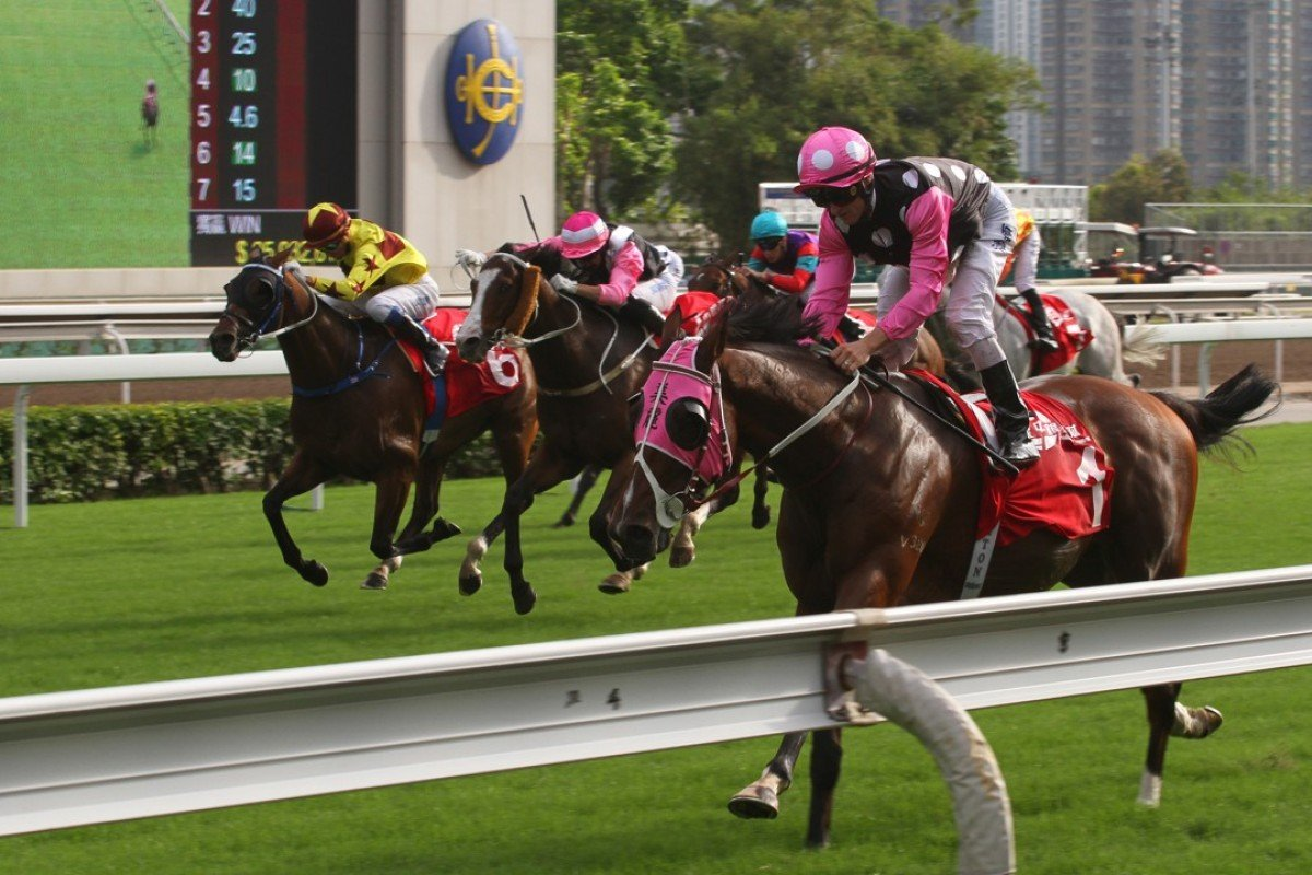 Beauty Generation blitzes his rivals on Sunday. Photos: Kenneth Chan