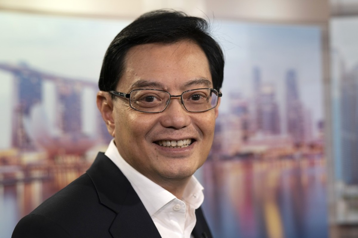 Finance Minister Heng Swee Keat. Photo: Bloomberg