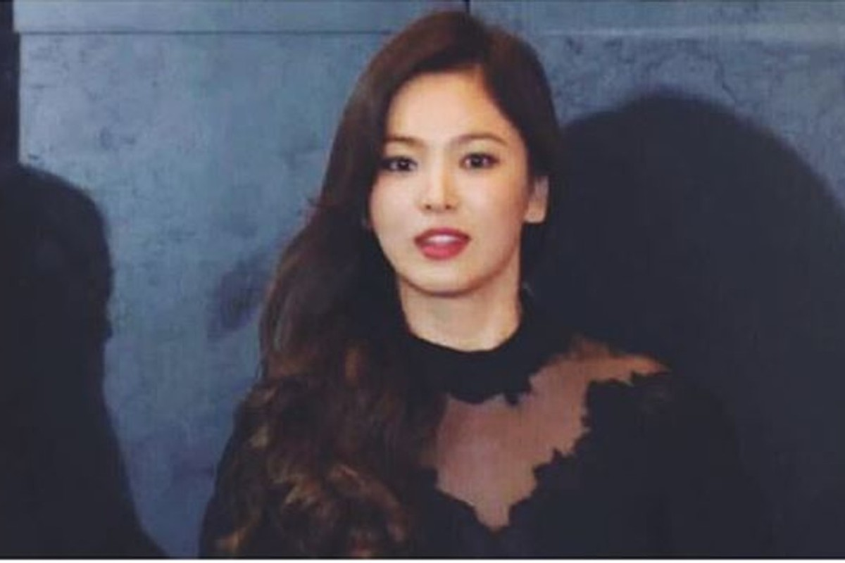Screenshot of actress Song Hye-kyo's Instagram post. Instagram: @kyo1122