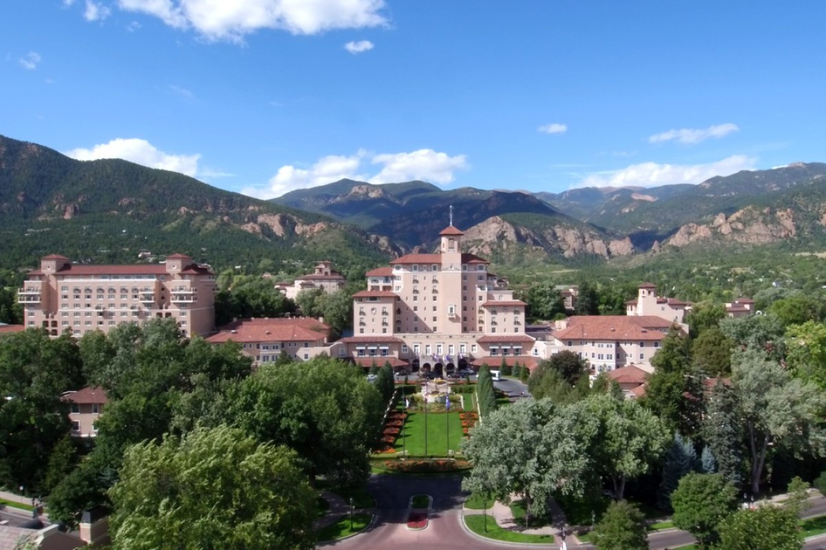 The Broadmoor, in Colorado Springs. Picture: The Broadmoor, Colorado Springs