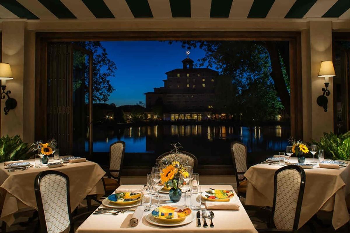 The Del Lago restaurant. Picture: The Broadmoor, Colorado Springs