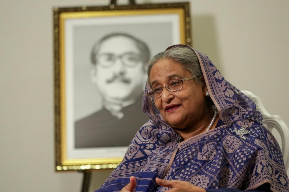Bangladeshi Prime Minister Sheikh Hasina. Photo: Reuters