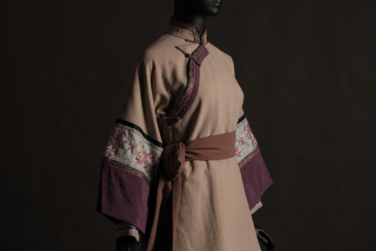 One of the costumes for the role of Yu Xiulian in the 1999 film 'Crouching Tiger, Hidden Dragon'