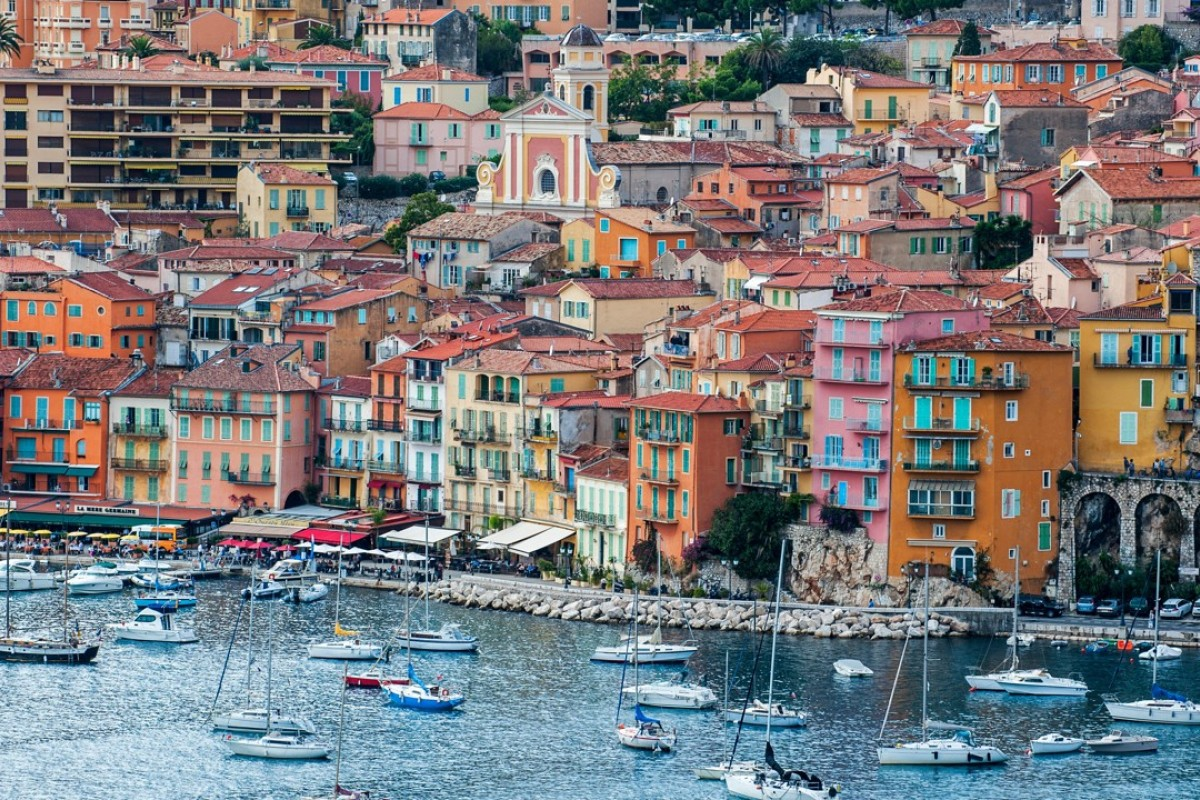 A marina in Nice. Picture: Alamy
