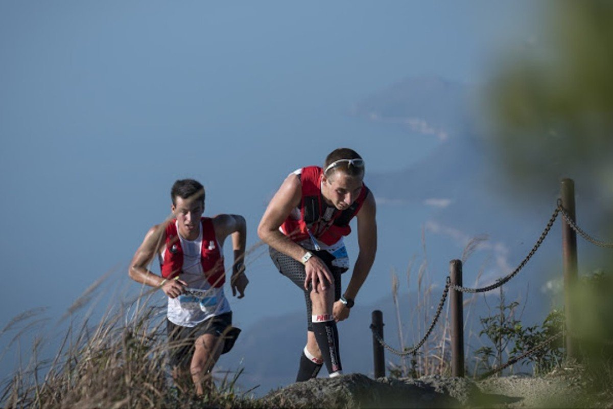 Competitors battle to a peak during the Lantau 50. Photo: Action Asia Events