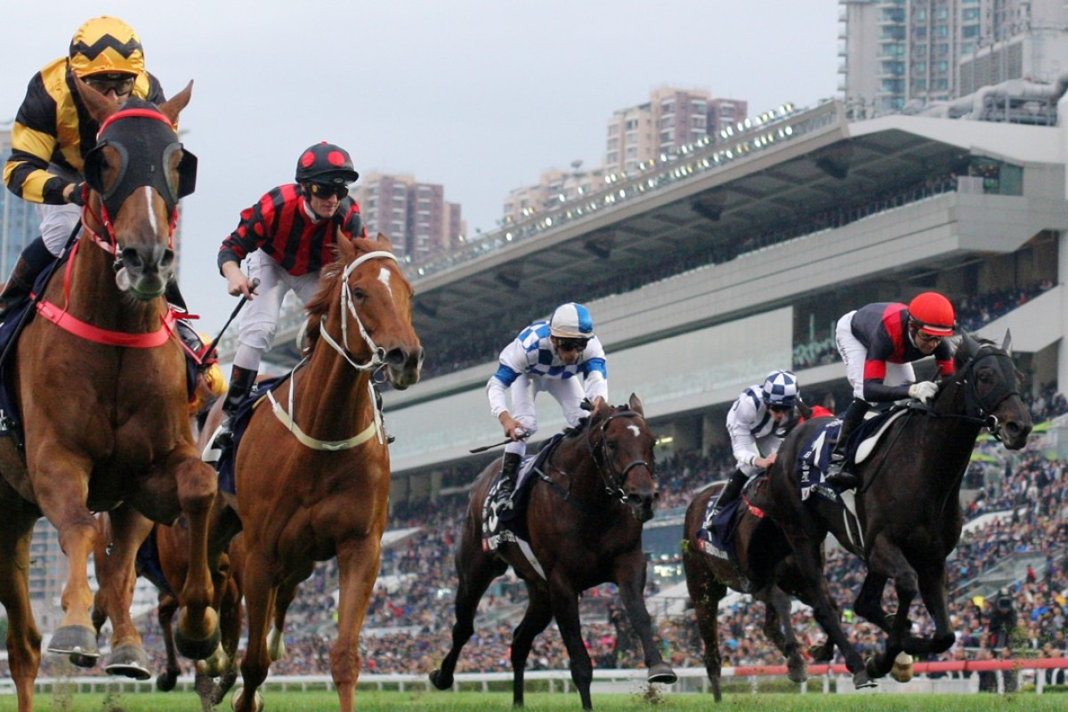 Glorious Forever wins the Hong Kong Cup. Photos: Kenneth Chan