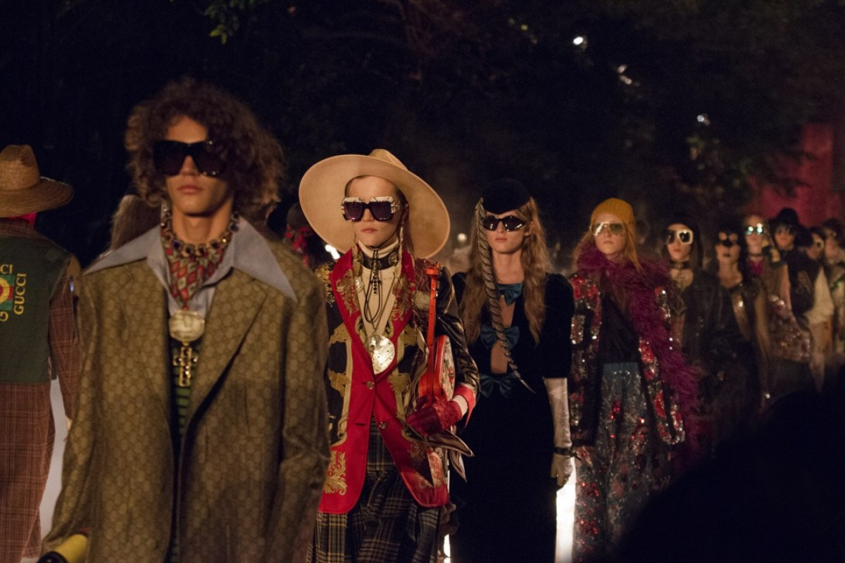 The Italian fashion house Gucci held its spring/summer 2019 collection in September at the Paris Fashion Show as part of creative director Alessando Michele homage to France.