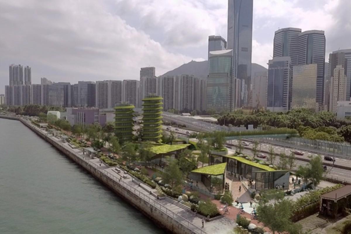 Design firm Lead8's 'HarbourLoop' proposal. Photos: Lead8