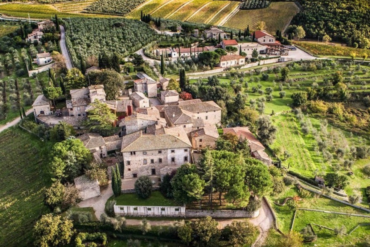 The winery of Castello di Ama, in the Chianti region of Italy, distinguishes itself through its history and wines – and also its remarkable contemporary art collection.