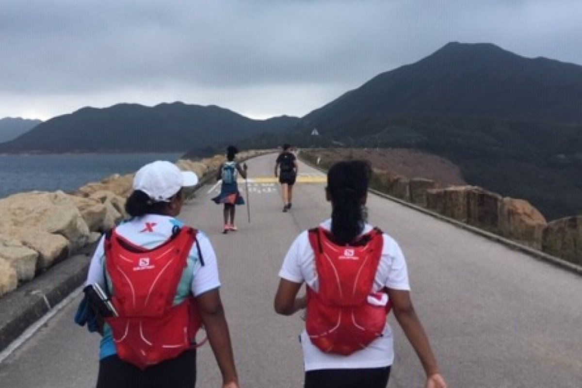 RUN is a charity dedicated to getting refugees out on the trails. Four women are taking part in the HK100, despite the obstacles associated with their position as refugees. Photo: Handout
