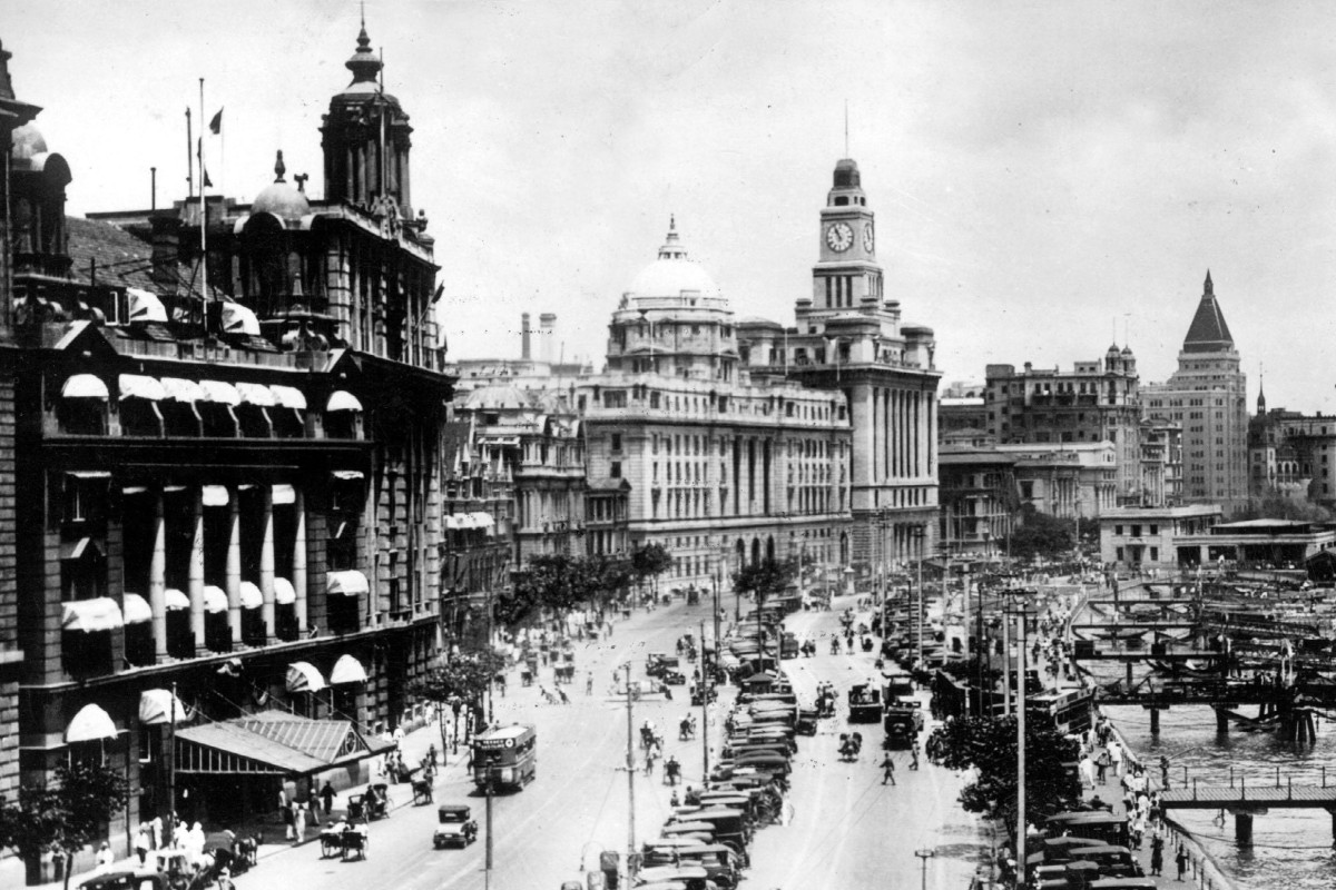 The Bund in Shanghai, in the 1930s. Picture: Alamy