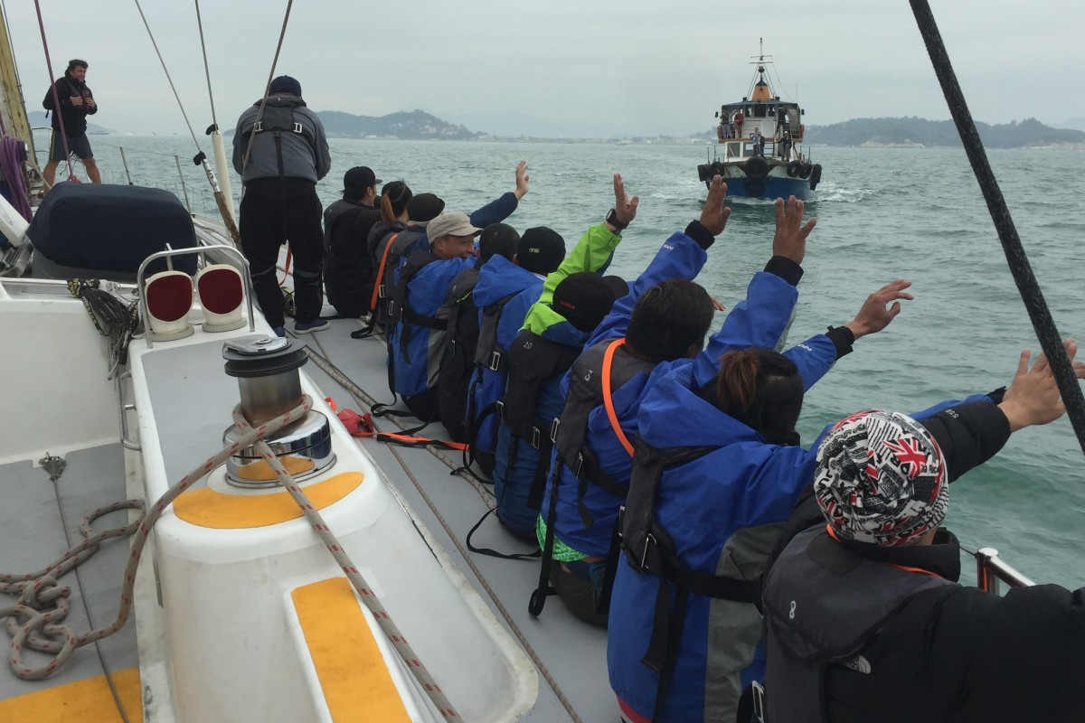 Recovering drug addicts learn to sail to help build life skills that will help keep them clean when they leave rehabilitation. Photos: Outward Bound Hong Kong