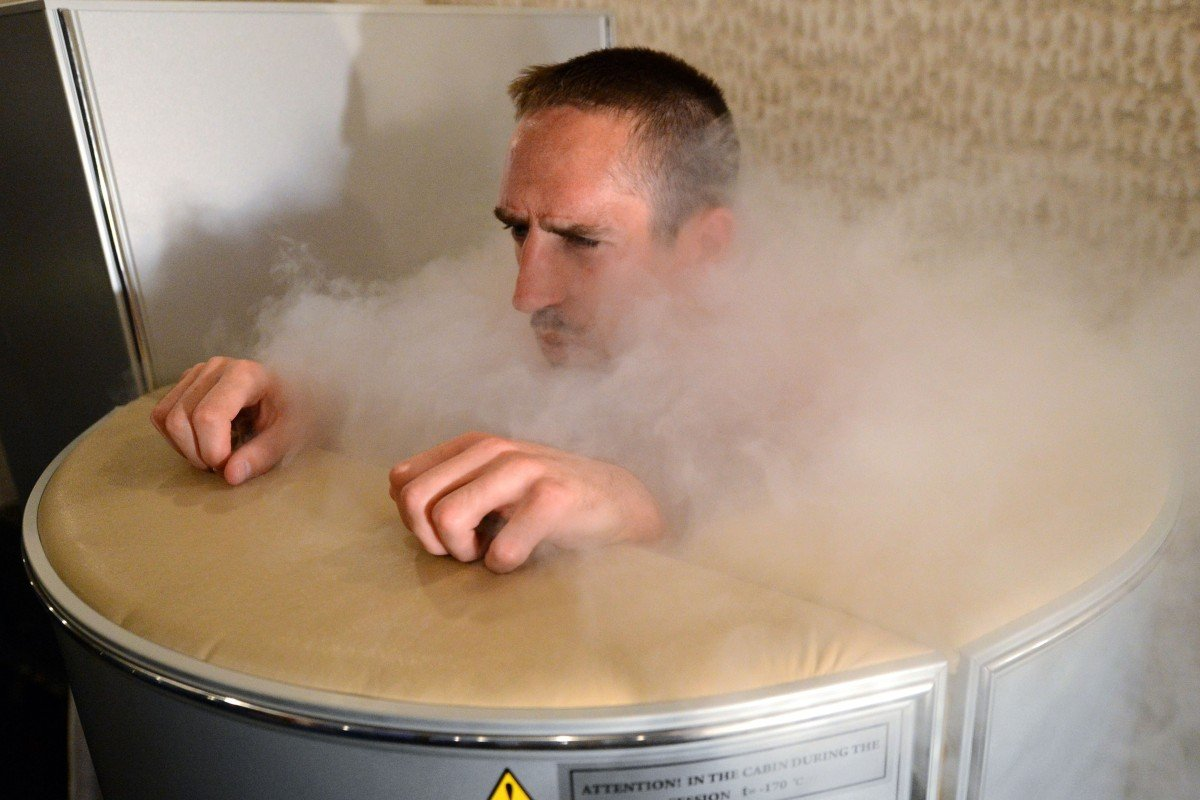 French football star Franck Ribery is one of the famous sports stars to have used cryotherapy. Photo: AP