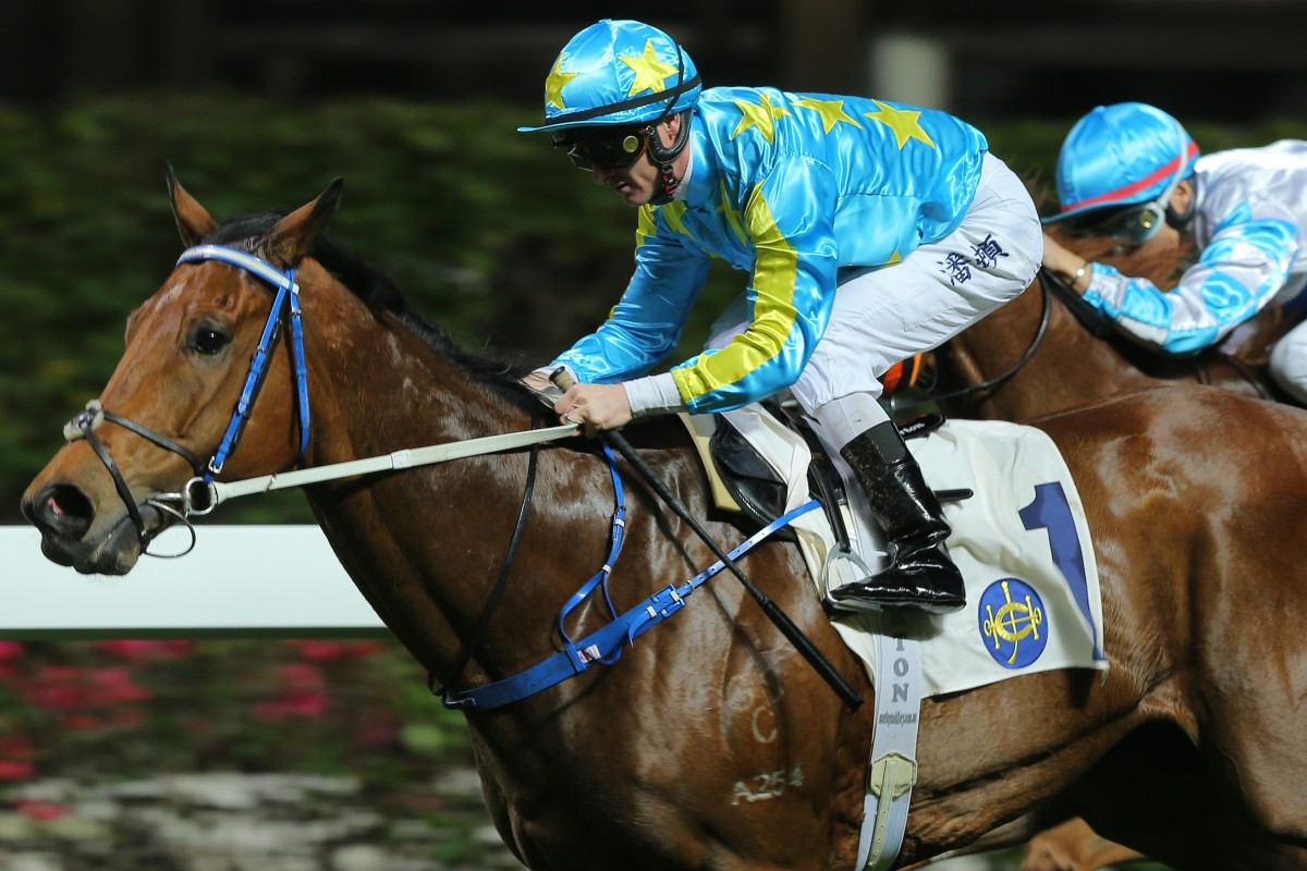 E Master races clear to win in Class Four company last month. Photos: Kenneth Chan