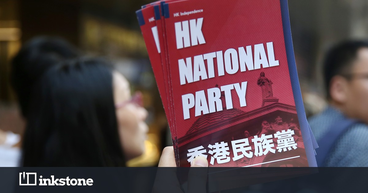 Why Did Hong Kong Ban A Tiny Political Party Inkstone Hk Red