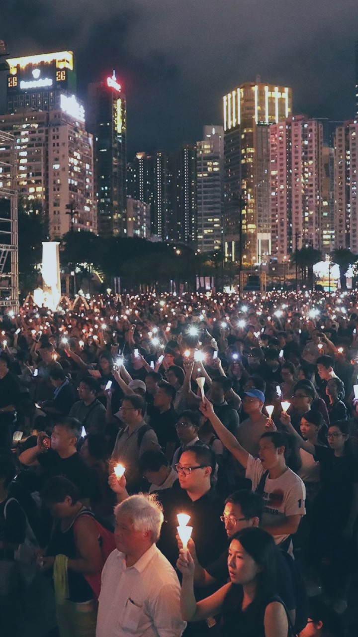 Candlelight for Tiananmen