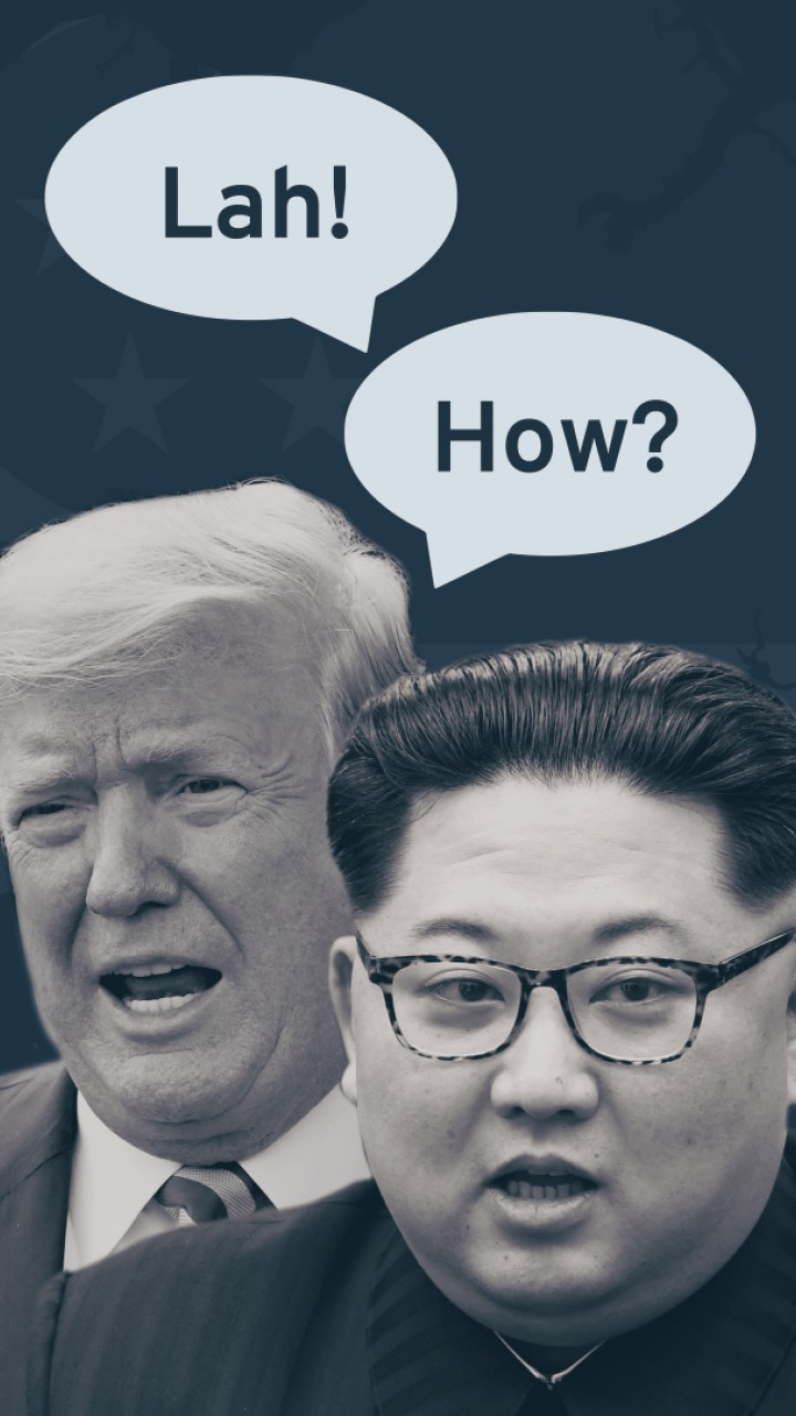 A Singlish guide to the North Korea summit
