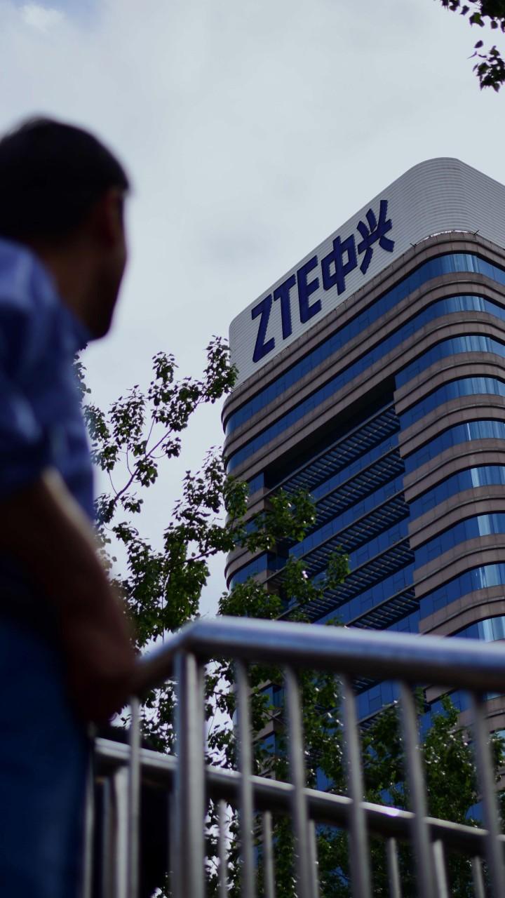 ZTE shares plunge as senators fight to cut Trump's lifeline