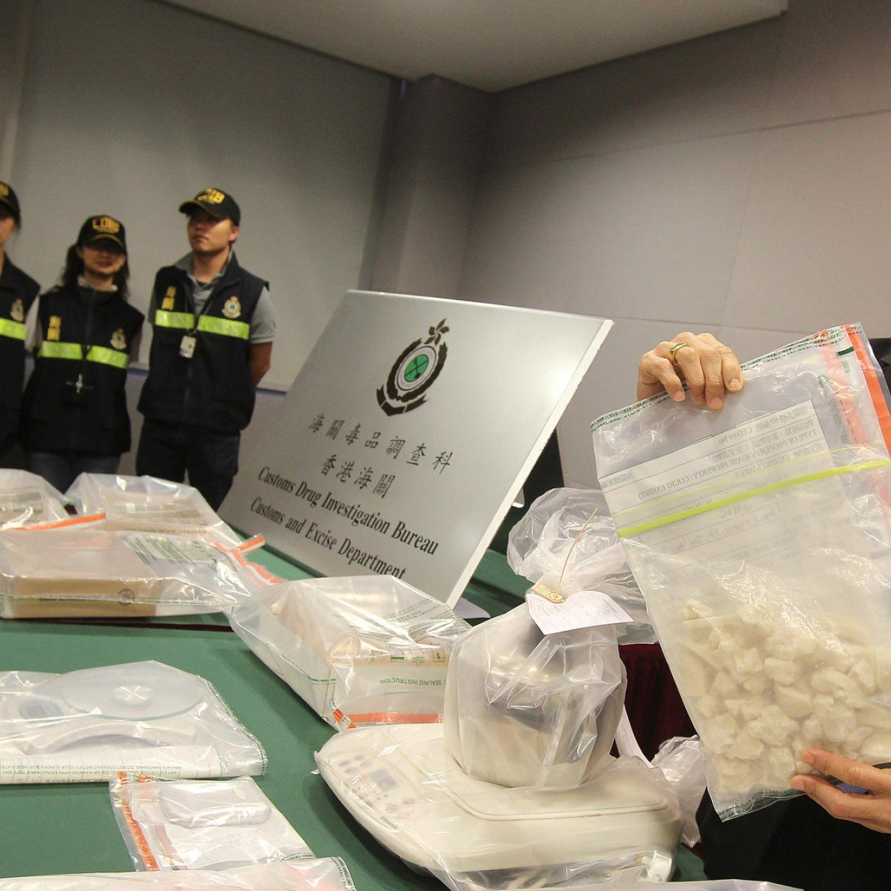 Police at airport find 24kg of cocaine, the biggest haul