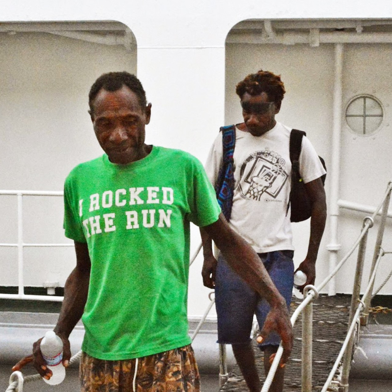 Papua New Guinea fishermen who survived three months adrift at sea