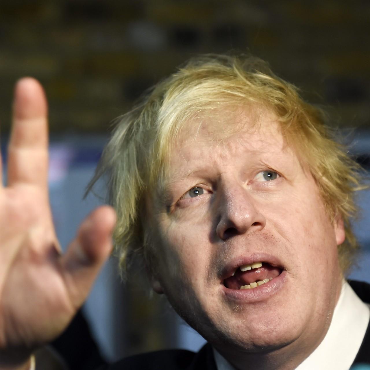 London mayor Boris Johnson says Tony Blair is an 'epic tosser' for