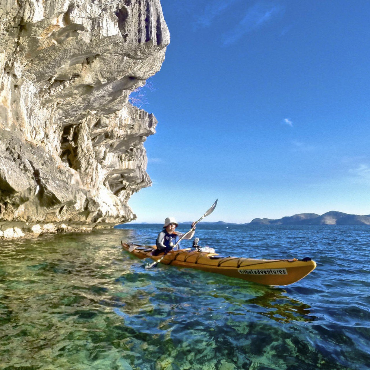 Sea kayaking in pristine Palawan, the Philippines | South