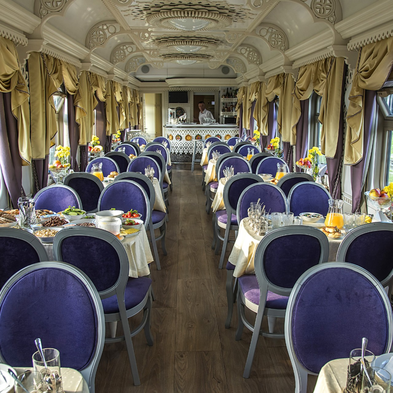 All aboard the Tsar's Gold luxury train from Mongolia to