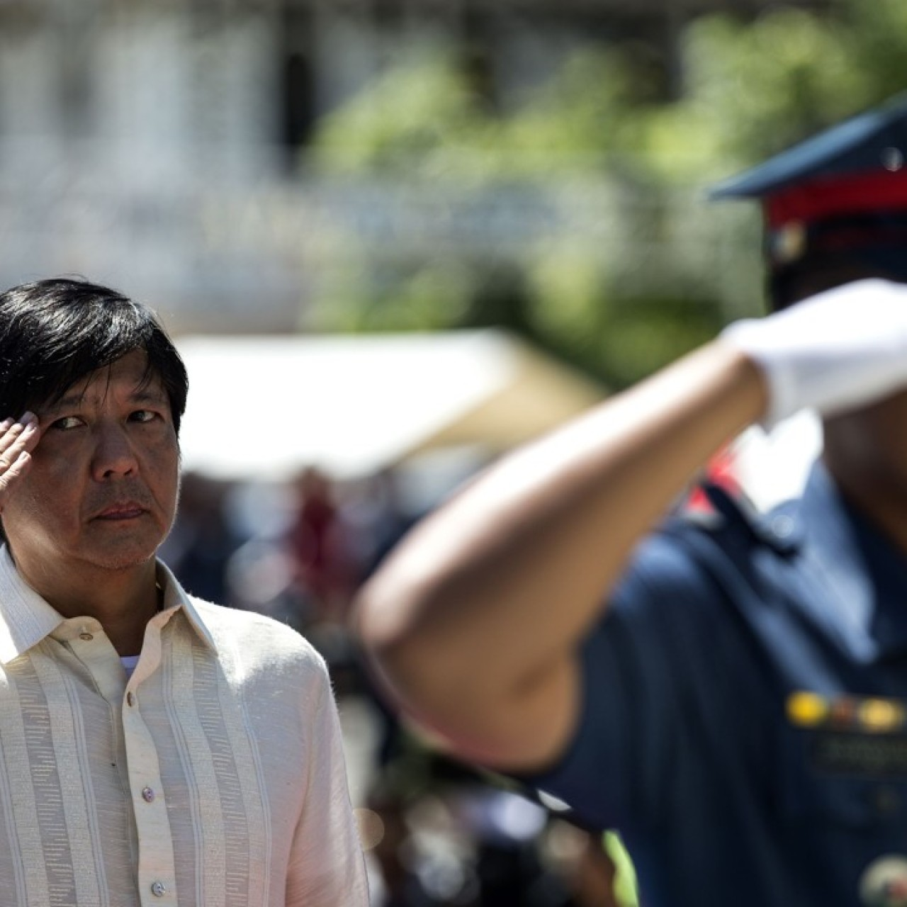Marcos son 'Bongbong' confident of being declared Duterte's vice