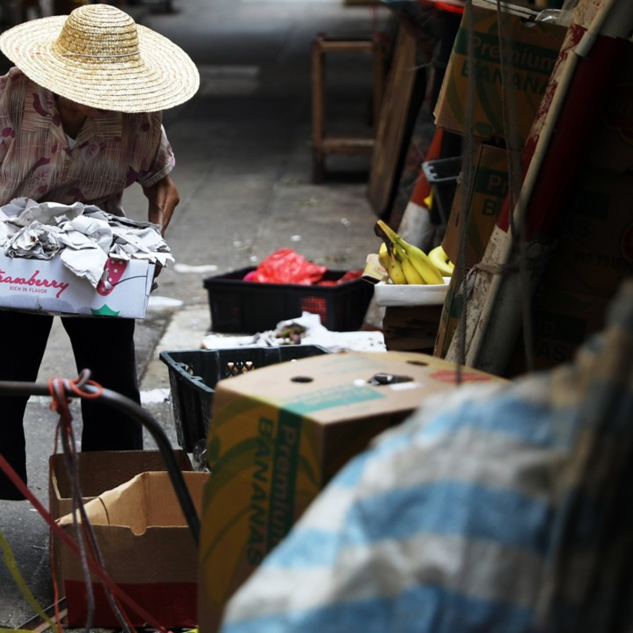 a902b45d New study into Hong Kong's forsaken 'cardboard grannies' finds they earn  just HK$716 a month | South China Morning Post