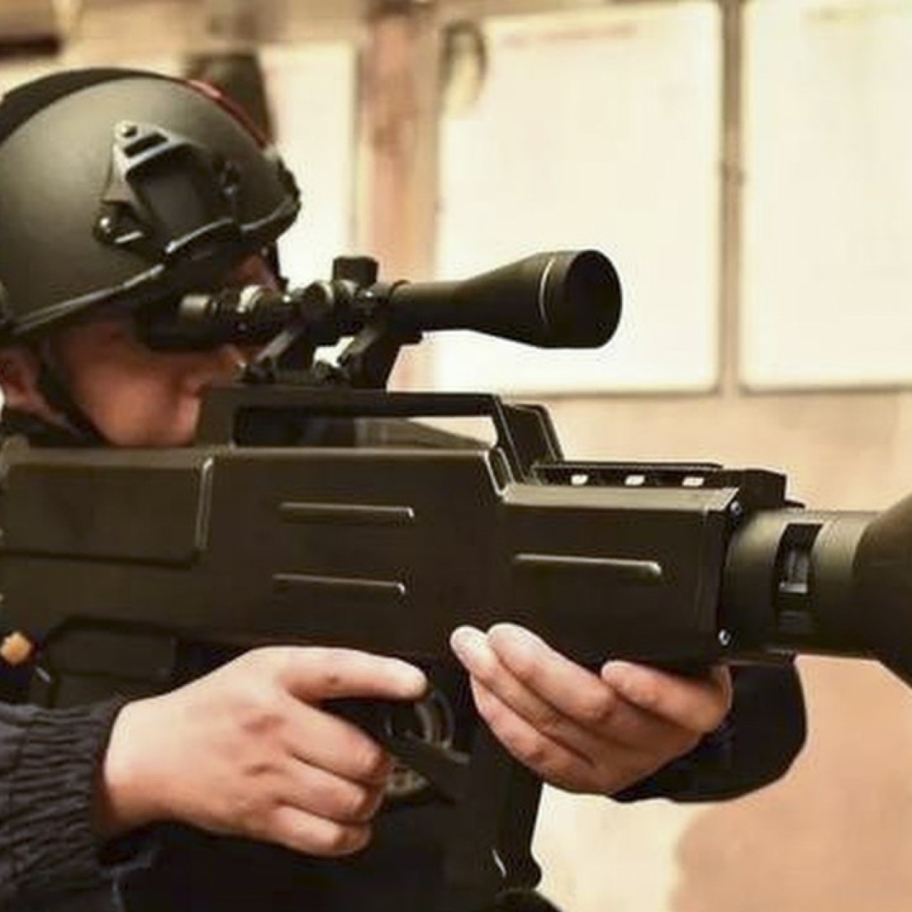 China Brings Star Wars To Life With Laser Ak 47 That Can