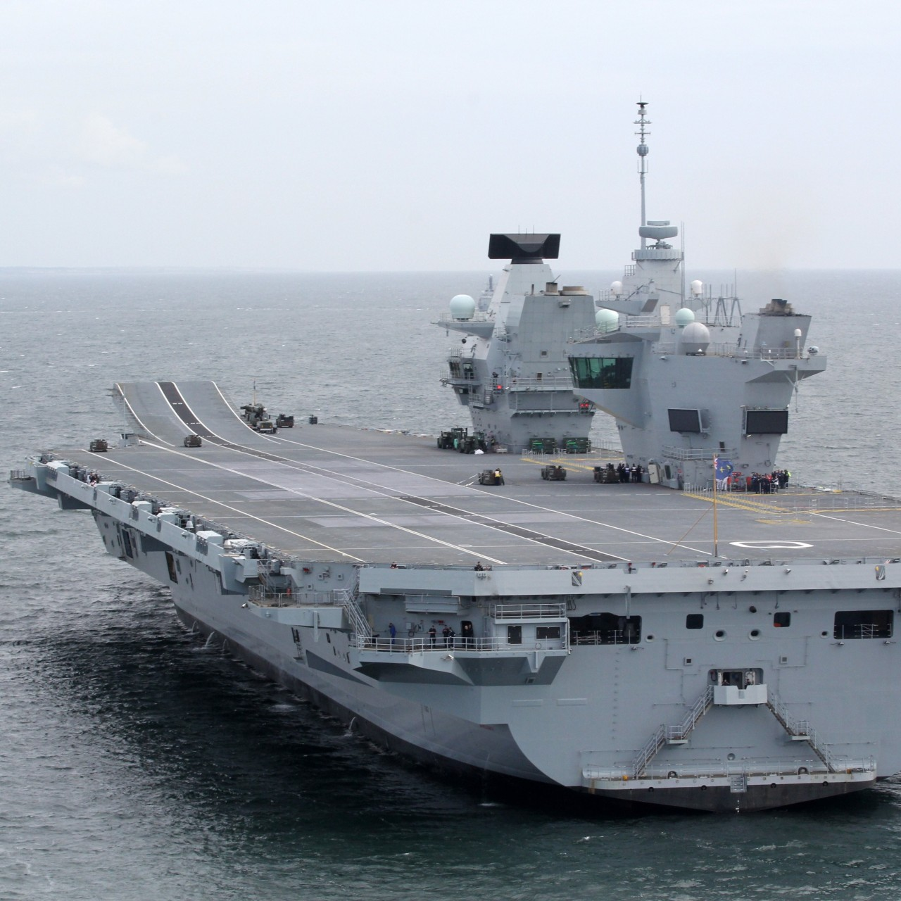 Britain's naval ambitions to once again rule the waves are